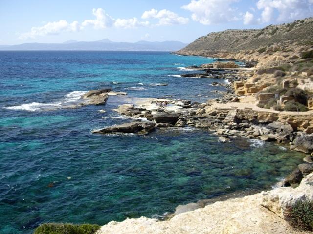 Die Delta Bucht auf Mallorca