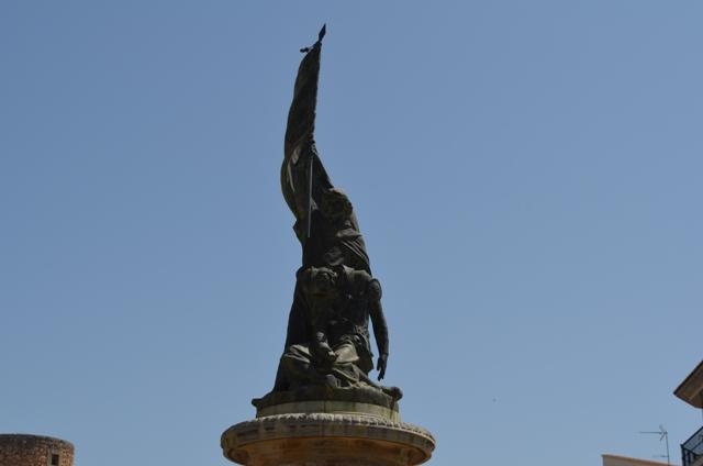 Denkmal Jaime III in llucmajor