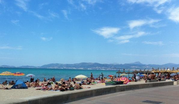 Der Strand am Ballermann 6
