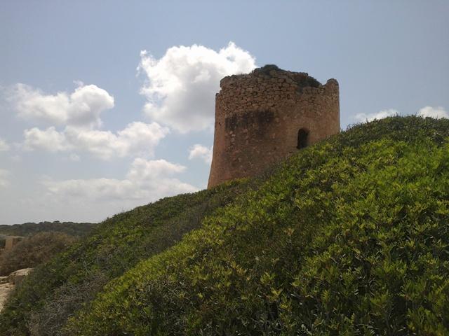 Wachturm Cala Pi