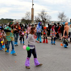 Karnevalsumzug an der Playa de Palma
