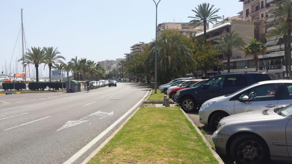 Parkplätze Sollen Grünfläche Auf Dem Paseo Marítimo Weichen