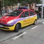 Polizeiauto aber noch kein Elektroauto