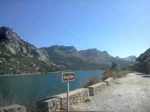 """Der Stausee """"Gorg Blau"""" im Mai 2013 (Mallorca)"""