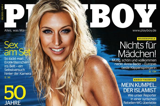 Verena Kerth im Playboy 2013