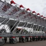 Symbolbild für Aldi Supermarkt auf Mallorca:Einkaufswagen