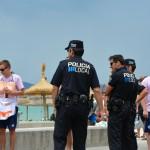 Polizei Playa de Palma Mallorca