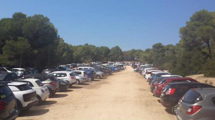 Es Trenc Mallorca parken