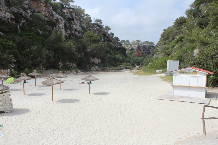 Cala Pi Strand in der Nebensaison